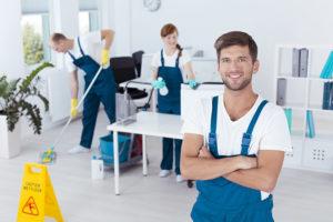 Société de nettoyage de bureaux